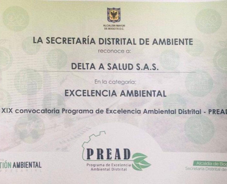 """Galardonados en la categoría """"Excelencia Ambiental"""""""