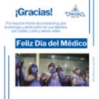 Feliz día panamericano del médico