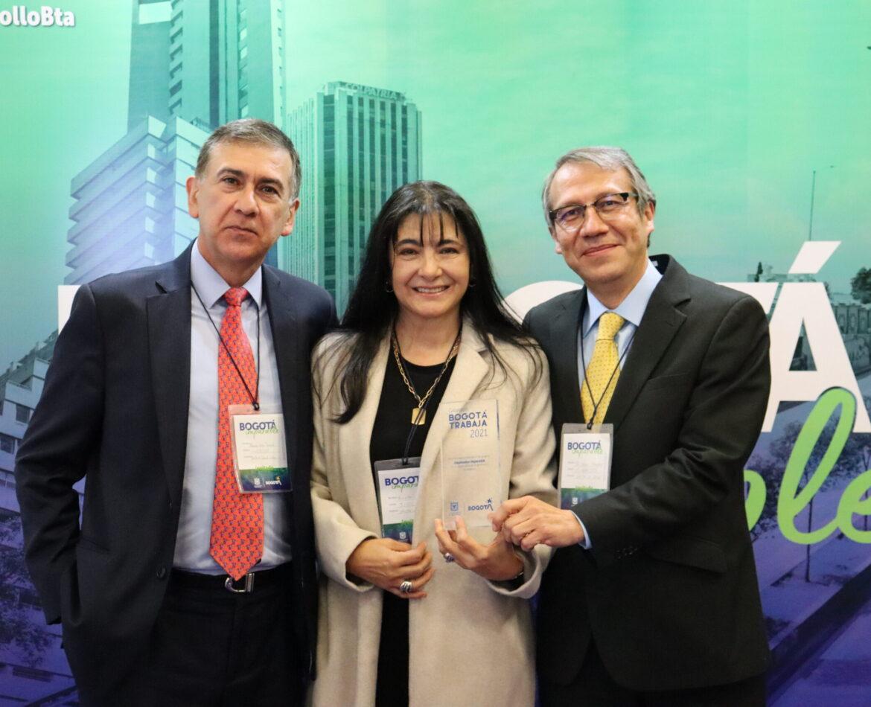 Delta A Salud galardonada en los Premios Bogotá Imparable